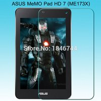 Wholesale Me173x Screen Protector - Wholesale- 200pcs 0.26mm 9H Explosion proof Tempered Glass Screen Protector for ASUS MeMo pad HD 7 ME173X LCD Screen protector Film 173X