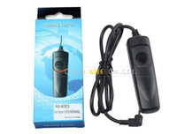 Wholesale Remote Control Switch Camera - Wholesale- RS-80N3 Camera Remote Control Shutter Release Switch For 5dIII 40d 50d 5d 5dII 7d
