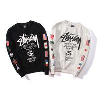 Wholesale Winter Jacket Designer Women - Harajuku Tokyo designer jacket hoodies for men women Autumn winter warm cotton sup hoodie Palace hip pop streetwear jackets