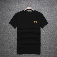 Wholesale Shirt Y - New In the summer top quality 1:1 Y-3 Couple Lovers T-shirt MEN Ms Women Camisetas Mujer Tees Men Short Sleeve O-neck Y3 Casual T Shirts