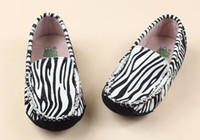 Wholesale Kids Slip Leather Shoes - Zebra & Triple White Highest Version Kids Casual Shoes Jeff Store