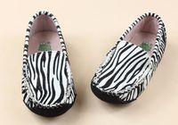 Wholesale Kids Squared Shoes - Zebra & Triple White Highest Version Kids Casual Shoes Jeff Store
