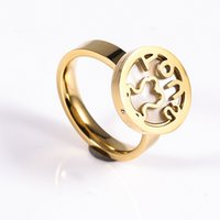 Wholesale Simple Ring Designs For Women - TL stainless steel pearl ring simple design classic style for women two colors available brand jewelry
