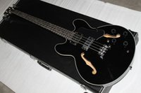 Wholesale Semi Bass - free shipping G 4strings black 335 Electric bass