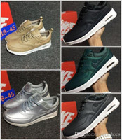 Wholesale Thea Max Printed - 2017 New Maxes Thea Print 87 Men's Women's Running Shoes casual breathable Skateboarding Sneakers Walking Shoes Zapatillas Eur 36-