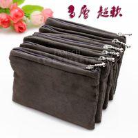 Wholesale Star Crocodile Purse - Hand bag bag multilayer lipstick mobile phone purse jewelry flannelette brocade bag kit