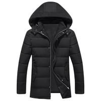 Wholesale Men 8xl - Wholesale- 2017 new arrival Winter cotton-padded jacket male thickening men's fashion casual super large plus size 4XL5XL 6XL 7XL 8XL 9XL