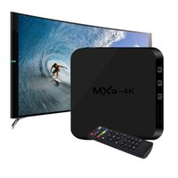 Wholesale android tv box free dhl online - MXQ k RK3229 Android TV Box Quad Core G G HDMI WiFi Play Store K K P Free DHL