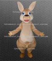 Wholesale kangaroo adult costume - 100% positive feedback kangaroos mascot costumes with custom size for adult mascot-58