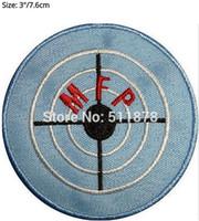 "Wholesale Fury Baseball - 3"" MAD MAX Fury Road MFP Symbol Logo Movie TV Series Anime Cosplay Embroidered Emblem iron on patch Baseball Cap Badge"