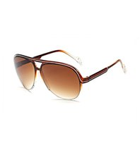 Wholesale Funky Red - Brand Designer Sunglasses For Men Women Metal Funky Glasses Frame UV400 Polarized Travel Driving Fishing Party Eyewear LauraFairy 1003