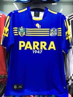 Wholesale 2017 Parramatta Eels Jersey top quality eels rugby away shirts size S XL men shirts