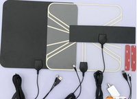Wholesale Factory supply miles HD digital Indoor TV antenna VHF UHF50 miles receive antenna us