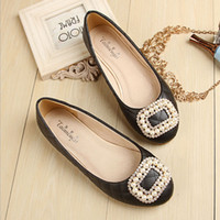 Chaussures Femme Chaîne Bead Round Toe Mains Mousses Slip on Sandals Rhinestone Slides Ballerina Flats Chaussures Shallow Black Pink Apricot
