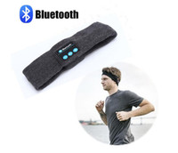 Wholesale Adult Cotton Hair Band - Bluetooth Music Phone Sport Sweatband Sweat Band For Cycling Running Riding Yoga Headband Head Band Hair Band VS Bluetooth Hat