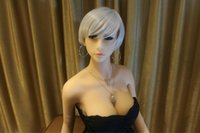 Wholesale Sex Vagina Soft Skin - 158cm Real sex doll japanese mannequin realistic silicone sex dolls soft vagina ass lifelike love doll adult sexy toy for men
