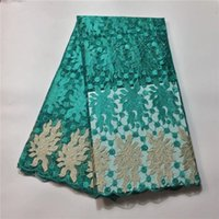 Wholesale Wholesale Embroidered Organza Fabric - Classical design embroidered magic pattern wholesale price Tulle Lace PF 108, Good quality And Free Shipping Organza Lace Fabric