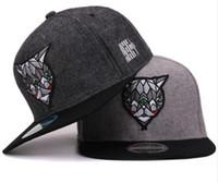 Wholesale Retro Snapbacks - Hatlander 3D Devil Eyes Baseball Caps Retro Gorras Hats Planas Chapeau Flat Bill Hip Hop Snapbacks Caps For Men Women Unisex