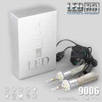 Wholesale Car Xenon Light H1 - R3 80W 9600LM Car H7 LED Headlight H1 H3 H4 H7 H8 H11 9005 9006 xenon white 6000K XHP-50 Car LED Headlight Bulb