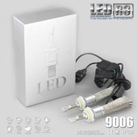 R3 80W 9600LM Car H7 LED Headlight H1 H3 H4 H7 H8 H11 9005 9006 xenon white 6000K XHP-50 Car LED Headlight Bulb