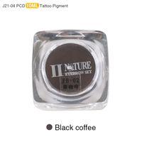 microblading tinte großhandel-Großhandel PCD Permanent Make-Up Tinte Lip Tattoo Ink Set Augenbraue Microblading Pigment Professionelle 10 ML 3 STÜCKE Schwarzer Kaffee J21