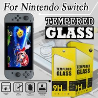 Wholesale nintendo screen protectors - Tempered Glass Screen Protector For Nintendo Switch 6.2inch Mobile Phone Accessories with packing