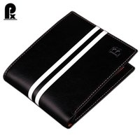 Wholesale Designer Portfolios - Wholesale- designer Famous Brand luxury men wallets leather pu mens wallet Solid Short money clip purses wallets portfolio man cuzdan sale