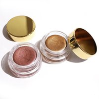 Wholesale Eye Cream Glitter - Kylie Birthday Edition Creme eye Shadow Eyeshadow Cream Makeup Creme Copper And Rose Gold 2colors Kyshadow Kit Kylie Cosmetics free shipping