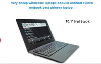 Wholesale Intel Wireless Laptop - brand new and with retail packing box safe arriving from China factory 10 inch screen size computer netbook Android O.S