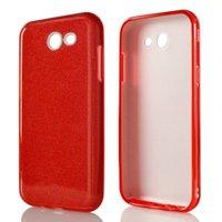 Wholesale Glitter For Paper - Glitter Paper Slim Phone Case Armor Case TPU Cover 3 in 1 Case For Samsung J3 Prime Metropcs Moto E4 Metropcs  Boost A