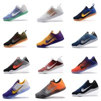 Wholesale Kobe XI Elite Low Basketball Shoes Men Retro KB Boots High Quality Sneakers Cheap Sports Shoes