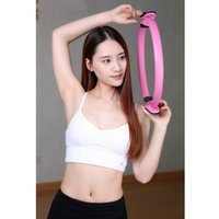 Wholesale Gym Rings Exercises - Wholesale- New Pilates Magic Fitness Circle Yoga Ring Crossfit Workout Sport Equipment Weight-Loss Home Gym Exercise circle