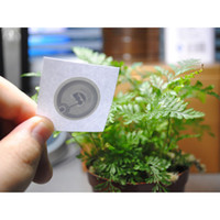 Wholesale nfc labels resale online - mm round Epaper rfid label sticker tag13 MHz ISO1443A NTAG216 NFC Sticker for all NFC enabled phones