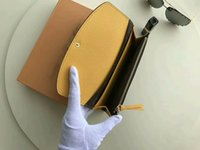 Wholesale Blue Bifold Wallet - For 9 Color Women Men Long Hasp Coin AAA+ Quality Real Leather Card Purse Multicolore Emilie Card Bifold wallets bags CX#78 With Box M60698
