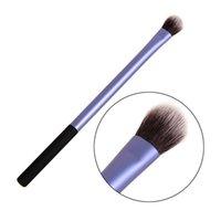 Wholesale Mini Shadow Brush - Wholesale-Eye shadow brush synthetic hair profession application mini singe brush highligths smoky shadow tool