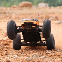 Wholesale Brushless Truggy - Wholesale- Vkarracing 1 10 2.4G 4WD Brushless Off-Road Truggy BISON RTR 51201 Rc Car With Remote Control Toys