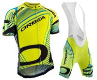 Wholesale Orbea Cycle Clothing - 2016 Orbea Team Men's Summer Cycling Jersey Set. Short Sleeve Bicycle Cycling Clothing Outdoor Sportswear + Bib Shorts, 3 Colors .
