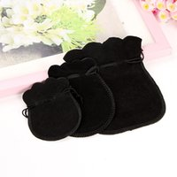 Wholesale Velvet Jewelry Pouch Gourd - 100pcs New arrival velvet jewelry pouch gourd velvet jewelry bags Packaging jewelry gift bags free shipping