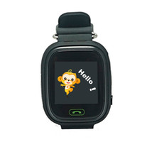 wifi gps tracking großhandel-Q90 GPS Tracking Uhr Touchscreen WIFI Position Smart Watch Kinder SOS Call Finder Tracker für Kinder Sichere GPS-Uhr Q50 Q60