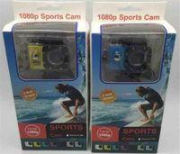 câmera de esporte hdmi venda por atacado-2018 Hot Sport Camera ação nova SJ4000 freestyle 2inch LCD 1080 P HD câmera de ação HDMI 30 metros à prova d 'água câmera DV capacete esportes SJca
