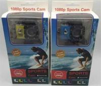 casque sport dv achat en gros de-2018 Hot Sport Camera action nouvelle SJ4000 freestyle 2inch LCD 1080p HD caméra d'action 30 mètres étanche DV caméra casque de sport SJca