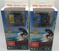 Wholesale New Hot Electronic - 2018 Hot Sport Camera action new SJ4000 freestyle 2inch LCD 1080P HD HDMI action camera 30 meters waterproof DV camera sports helmet SJca