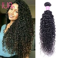 Wholesale IUPin Unprocessed Brazilian Curly Virgin Hair Weaves Bundles Deals Peruvian Malaysian Indian Deep Curly Wet and Wavy Human Hair Extensions