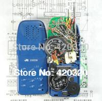 Wholesale Radio Walkie Talkie Kit - Wholesale-Unassembled FM radio + walkie talkie diy kit Suite FM radio walkie talkie kit DIY Intercom Kit DIY