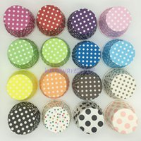 Vente en gros 1000pcs Round Small Divers Cute Pattern MUFFIN CAKE Candy Case Paper Cup CUPCAKE CASES Liner