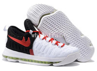 Wholesale Nylon Bird - Kids Mens kd9 kevin durant shoes Kd 9 basketball shoes kd 9 oreos unlimited Birds Of Paradise sneakers size 8-13 come with box