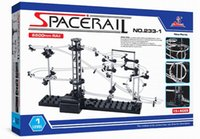 Wholesale Space Model Toys - Space Rail Model Building Kit Level 2 Steel Marble Roller Coaster SpaceWarp DIY Spacerail Erector Set 233-1 233-2 Toys for Kids