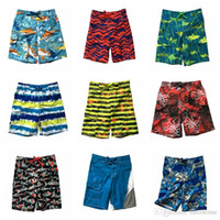 Wholesale Boys Kids Trunk Swimming - Kids Brand Beach Pants Fashion Beach Shorts Boys Swimming Trunks Sweatpants Swim Trunks Beach Wear Board Shorts Half Loose Surf Pants LD54
