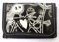Wholesale 12pcs The Nightmare Before Christmas boy s girls best love fashion cartoon wallet coin Purse bags with zipper