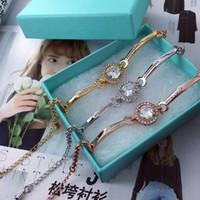 Wholesale fashion bracelet connectors - Fashion women bracelet with diamond 3 colors can be chose (leave me a message about the color you want)